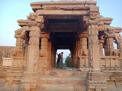 Garhi Padavali temple