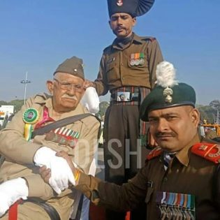 INA Veteran Shri Lalti Ram