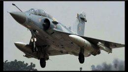 Mirage-2000 fighter jet