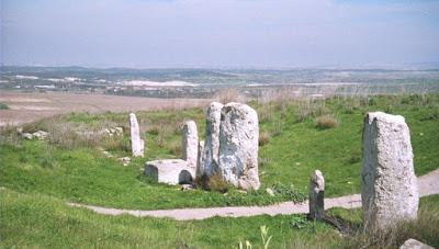 Tel Gezer-Stone-steles