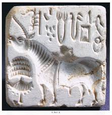 Unicorn seal from Mohenjodaro