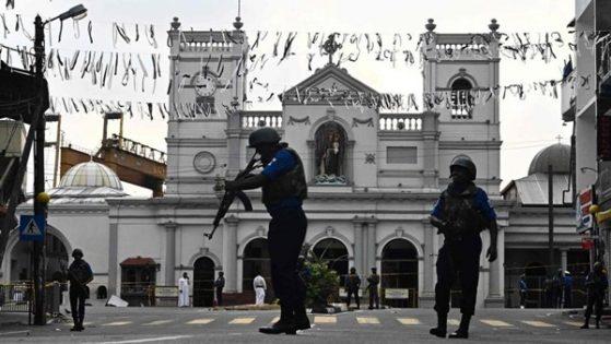 Terror bombings in Sri Lanka