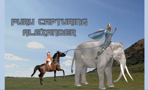 Puru captures Alexander