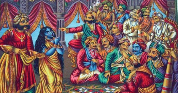 Draupadi's abuse