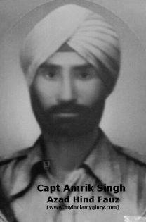 Captain Amrik Singh
