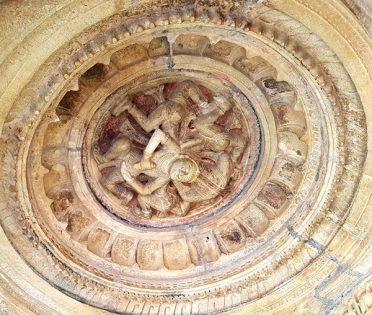 Haridas Paduka roof