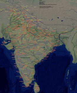 Bharatvarsha map