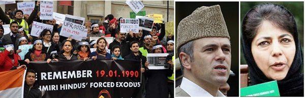 Kashmiri Hindus protest