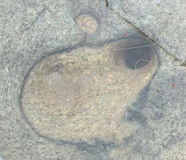 Footprint of Sri Ram
