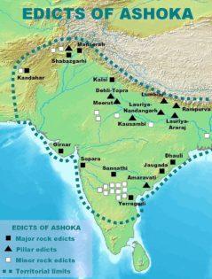 Edicts and Pillars of Ashoka along GT road