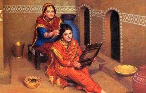Ladies in salwar kurta