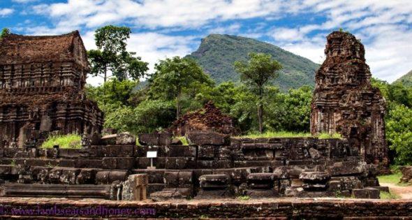 Hindu temple Vietnam
