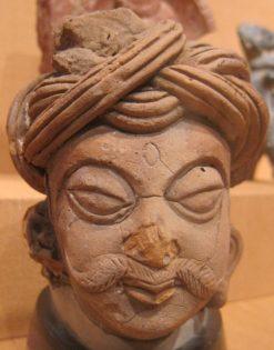 turban from Kushan or Gupta period