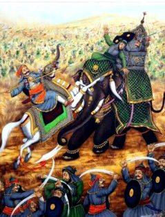 Rana Pratap and Man Singh