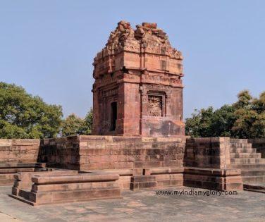 Dashavatar temple in ruins