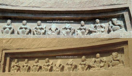 Saptamatrikas Ganesha 1