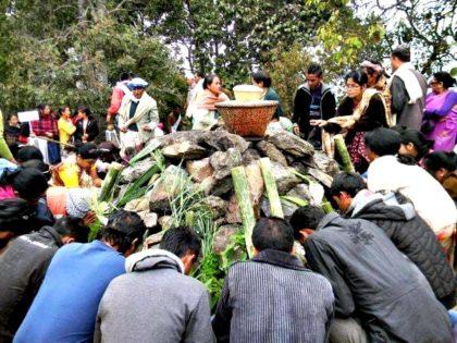 Niam Khasi ritual