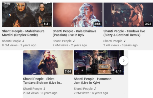 Shanti people videos