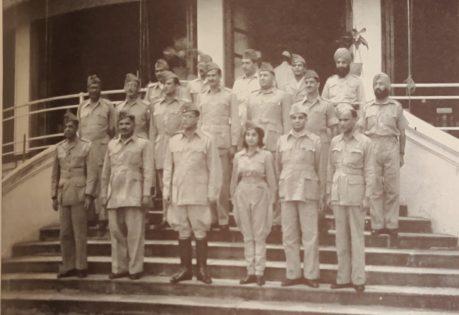 Netaji with his Cabinet