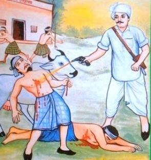 Harphool Jat in action