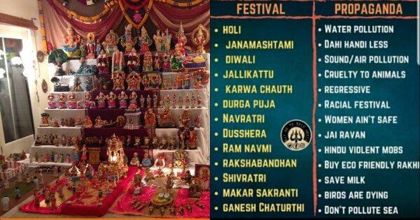 Vilification of festivals