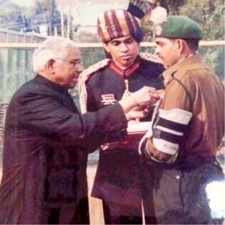 Subedar Major Yogendra Yadav
