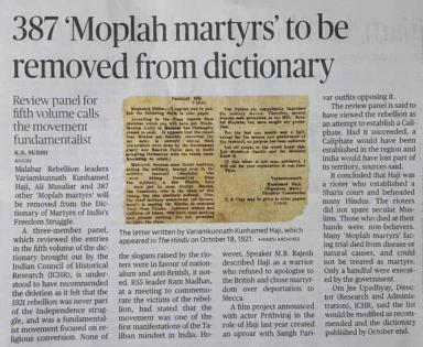 Moplah martyrs